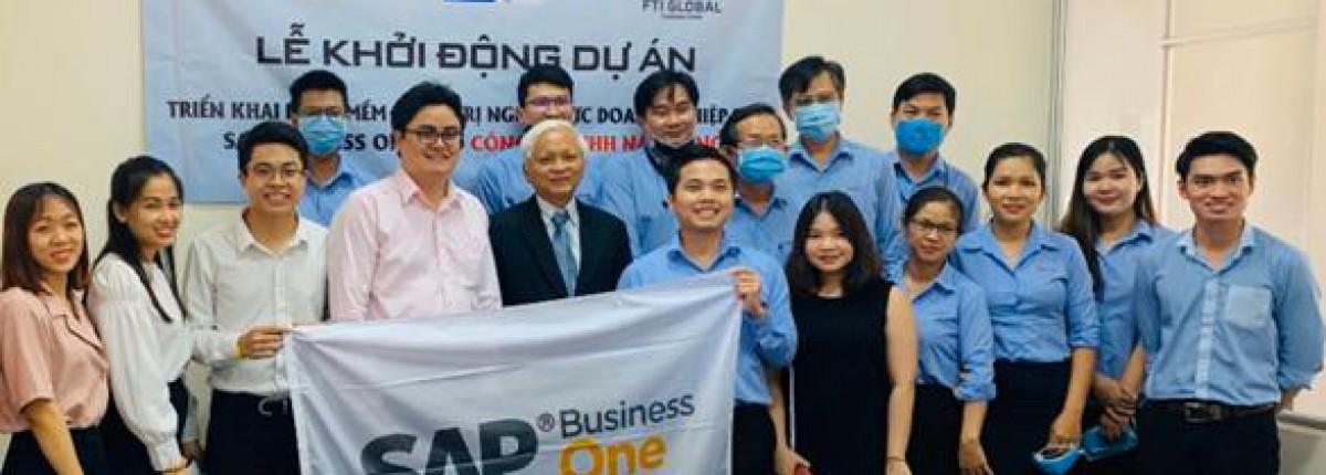 FTI Sài Gòn và Năm Dũng Equipment tổ chức lễ khởi động dự án triển khai hệ thống ERP SAP