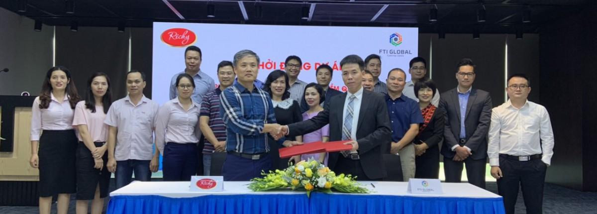 Lễ khởi động dự án ERP cho Công ty Cổ phần Thực phẩm Richy